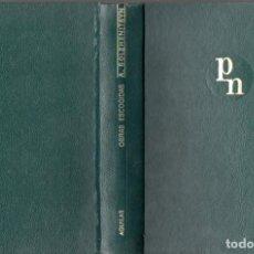 Libros de segunda mano: A. SOLZHENITSYN : OBRAS ESCOGIDAS (AGUILAR PREMIOS NOBEL, 1961). Lote 61596608