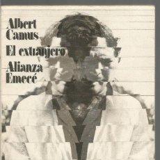 Libri di seconda mano: ALBERT CAMUS. EL EXTRANJERO. ALIANZA. Lote 73607159