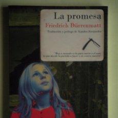Libri di seconda mano: LA PROMESA - FRIEDRICH DURRENMATT - EDITORIAL NAVONA, 2008, 1ª EDICION - (COMO NUEVO). Lote 63538624