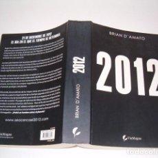 Libros de segunda mano: BRIAN D'AMATO. 2012. RMT77198. . Lote 63718023
