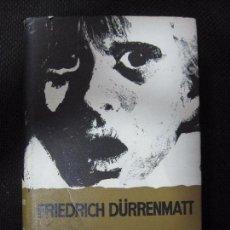Libros de segunda mano: LA PROMESA. FRIEDRICH DÜRRENMATT. EDIT. NOGUER. COLECCION ESFINGE. Nº4. 183PAGS. AÑO 1971.. Lote 63753843