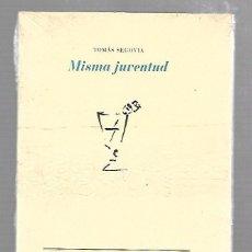 Libros de segunda mano: MISMA JUVENTUD. TOMAS SEGOVIA. COLECCION LA CRUZ DEL SUR. EDITORIAL PRE-TEXTOS. SIN ABRIR. Lote 63765435