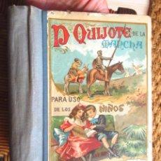 Libros de segunda mano: DON QUIJOTE DE LA MANCHA PARA USO DE LOS NIÑOS EDITORIAL HERNANDO 1930 BON ESTAT V FOTOS. Lote 63984099