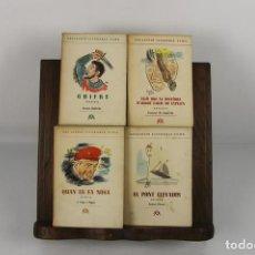 Libros de segunda mano: 4739- COL.LECCIO LITERARIA AYMA. 8 TITULOS. EDIT. AYMA. 1949.. Lote 43678185
