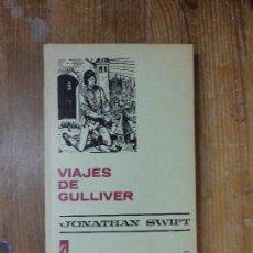 Libri di seconda mano: LIBRO VIAJES DE GULLIVER JONATHAN SWIFT 1976 ED. BRUGUERA L-11029-95. Lote 64359659