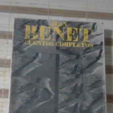 Libros de segunda mano: CUENTOS COMPLETOS 1 - JUAN BENET - ALIANZA EDITORIAL - 1977. Lote 64980291