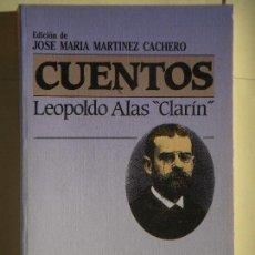 Libros de segunda mano: CUENTOS - LEOPOLDO ALAS, CLARIN - EDITORIAL PLAZA JANES, 1987, 1ª EDICION (EJEMPLAR NUEVO). Lote 66453134