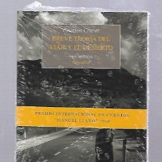 Libros de segunda mano: BREVE TEORIA DEL VIAJE Y EL DESIERTO. CRISTIAN CRUSAT. EDITORIAL PRE - TEXTOS. SIN ABRIR. PRECINTADO. Lote 66802566