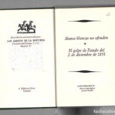 Libros de segunda mano: GRANDES MISTERIOS HISTORICOS DEL PASADO. 5. EDICION FERNI. 1973. Lote 67459633