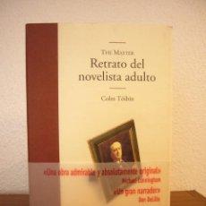 Libros de segunda mano: COLM TÓIBÍN: THE MASTER. RETRATO DEL NOVELISTA ADULTO (EDHASA, 2006) MUY BUEN ESTADO. Lote 101627531