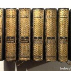 Libros de segunda mano: PEDRO MUÑOZ SECA. OBRAS COMPLETAS 7 VOL. (COMPLETA) 1949. EDICIONES FAX. Lote 68195021