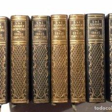Libros de segunda mano: OBRAS COMPLETAS SERAFIN Y JOAQUIN ALVAREZ QUINTERO 1954 7 VOL. COMPLETA . Lote 68238433