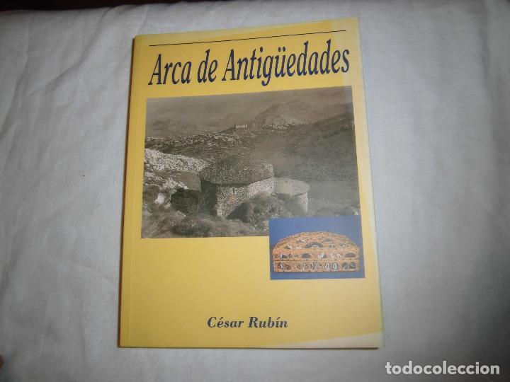 ARCA DE ANTIGÜEDADES. CESAR RUBIN. EDICIONES FONTAN, 1ª EDICION 1999.NOVELA DE AMBIENTE ASTURIANO (Libros de Segunda Mano (posteriores a 1936) - Literatura - Narrativa - Otros)