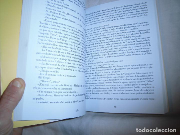 Libros de segunda mano: ARCA DE ANTIGÜEDADES. CESAR RUBIN. EDICIONES FONTAN, 1ª EDICION 1999.NOVELA DE AMBIENTE ASTURIANO - Foto 5 - 68682653