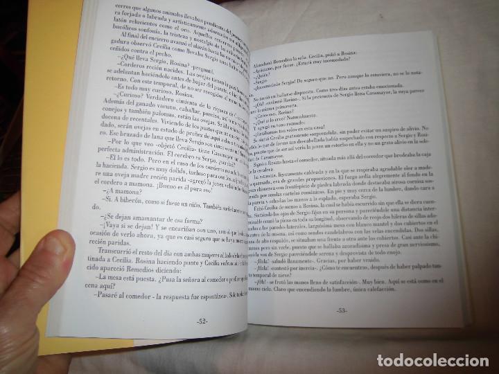 Libros de segunda mano: ARCA DE ANTIGÜEDADES. CESAR RUBIN. EDICIONES FONTAN, 1ª EDICION 1999.NOVELA DE AMBIENTE ASTURIANO - Foto 6 - 68682653