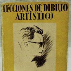 Libros de segunda mano: 'LECCIONES DE DIBUJO ARTÍSSTICO, COMO APRENDER A DIBUJAR' POR EMILIO FREIXAS. EDITOR ENRIQUE MESSEGE. Lote 69045895