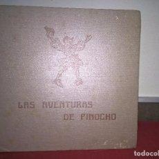 Libros de segunda mano: LAS AVENTURAS DE PINOCHO. C. COLLODI. EDITORIAL JUVENTUD 1941 1ª EDICION.. Lote 69106665