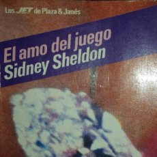 Libros de segunda mano: EL AMO DEL JUEGO. SIDNEY SHELDON. Lote 69587669
