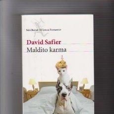 Libros de segunda mano: MALDITO KARMA - DAVID SAFIER - SEIX BARRAL EDITORIAL 2011. Lote 69662689
