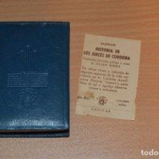 Libros de segunda mano: ANTIGUO LIBRO CRISOL - NÚM 022 - ALJOXANI - HISTORIA DE LOS JUECES DE CORDOBA - MUY ANTIGUO - 1965. Lote 71938943
