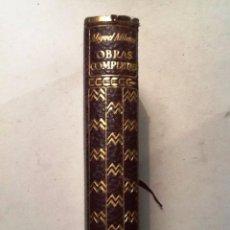Libros de segunda mano: OBRAS COMPLETAS DE MIGUEL MIHURA 1962 . Lote 72326359