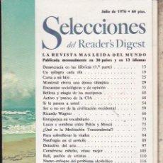 Libros de segunda mano: SELECCIONES DEL READERS DIGEST .. Lote 72348543