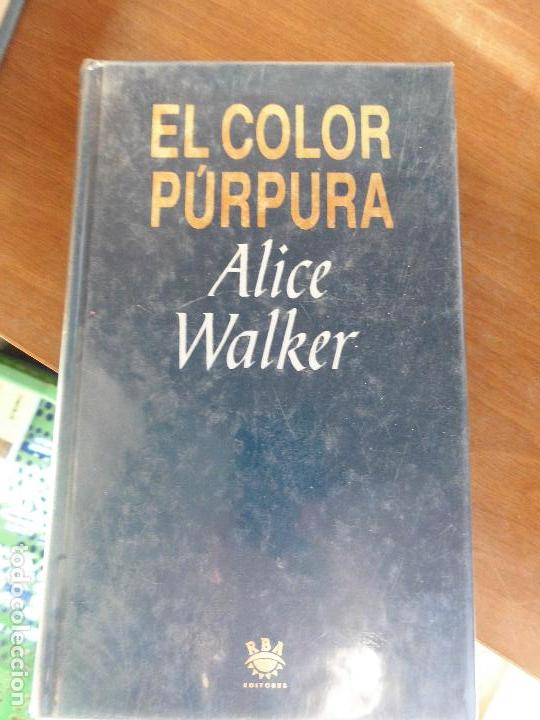 libro el color púrpura alice walker1993 ed. rba - Comprar en ...