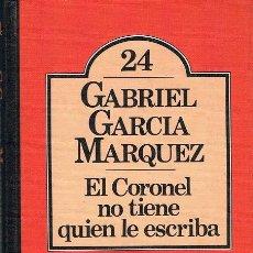 Libros de segunda mano: EL CORONEL NO TIENE QUIEN LE ESCRIBA. GABRIEL GARCÍA MÁRQUEZ (1ª ED. CLUB BRUGUERA, 1980). Lote 72941663