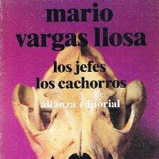 Libros de segunda mano: LOS JEFES / LOS CACHORROS. MARIO VARGAS LLOSA (2ª ED. LIBRO DE BOLSILLO, 1979). Lote 73981959
