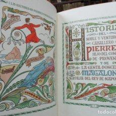 Libros de segunda mano: HISTORIA DEL NOBLE Y VENTUROSO CABALLERO PIERRES.. [D'IVORI, ILUSTR.]. Lote 73992135