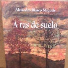 Libros de segunda mano: A RAS DE SUELO. ALEJANDRO BLASCO MIQUELE. ED / PAMIELA - 2016 / COMO NUEVO.. Lote 74724351