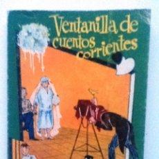 Libros de segunda mano: VENTANILLA DE CUENTOS CORRIENTES ENRIQUE GARDIEL PONCELA COLECCION PULGA . Lote 74792167