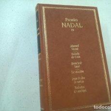 Libros de segunda mano: PREMIOS NADAL 15. MANUEL VICENT, JUAN JOSÉ SAER, JUAN PEDRO APARICIO. EDICIONES DESTINO 1992. Lote 74878151
