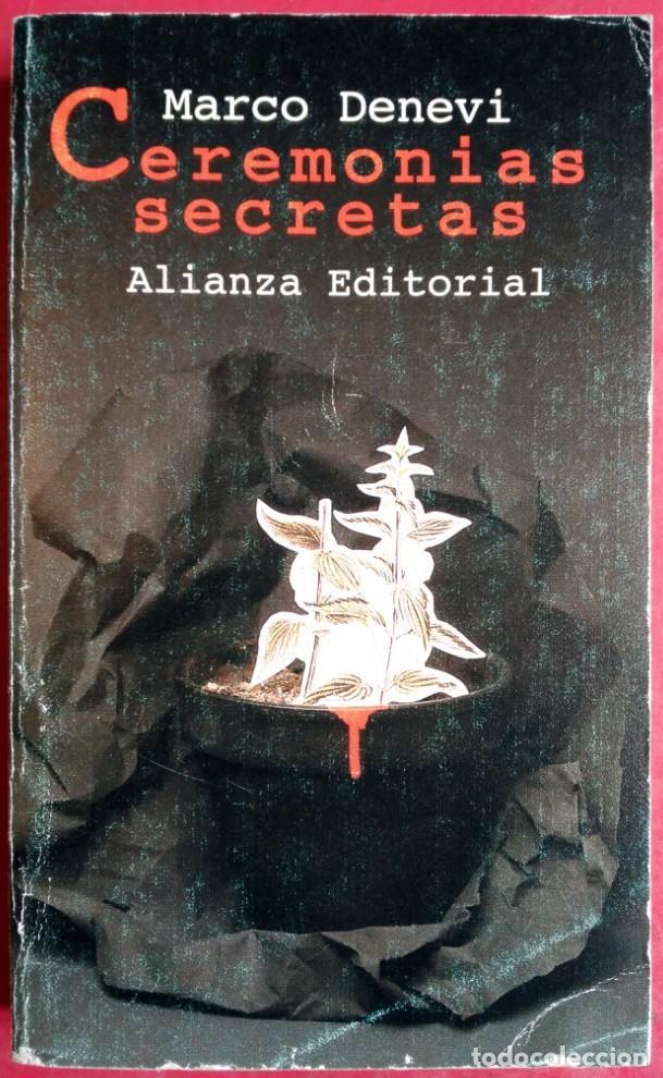 MARCO DENEVI . CEREMONIAS SECRETAS (Libros de Segunda Mano (posteriores a 1936) - Literatura - Narrativa - Otros)