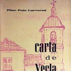 Libros de segunda mano: CARTA DE YECLA. Lote 75099395