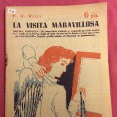 Libros de segunda mano: LA VISITA MARAVILLOSA. H.G.WELLS. REVISTA LITERARIA NOVELAS Y CUENTOS. 25-12-1960. Lote 75131927
