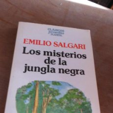 Libri di seconda mano: LIBRO LOS MISTERIOS DE LA JUNGLA NEGRA EMILIO SALGARI 1987 ED. PLANETA L-13705. Lote 75204803