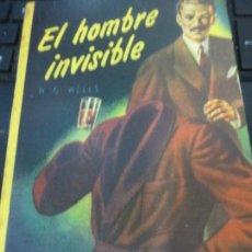 Libros de segunda mano: EL HOMBRE INVISIBLE H. G. WELLS EDIT ACME AÑO 1952. Lote 75487251