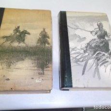 Libros de segunda mano: CHOLOJOV EL DON APACIBLE 2 TOMOS TAPA DURA 1969 CIRCULO DE LECTORES. Lote 76091807