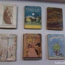 Libros de segunda mano: COLECCIÓN MAS ALLÁ (AFRODISIO AGUADO) - 6 LIBROS. Lote 76890619