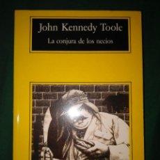 Libros de segunda mano: LA CONJURA DE LOS NECIOS JOHN KENNEDY TOOLE. Lote 76897339