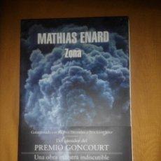 Libros de segunda mano: ZONA MATIAS ENARD EJEMPLAR FIRMADO POR EL AUTOR PRIMERA EDICION NUEVO. Lote 76945581