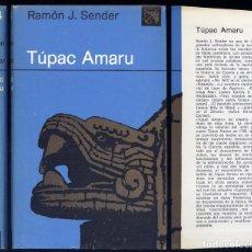 Libros de segunda mano: SENDER, RAMÓN J. TÚPAC AMARU. 1980.. Lote 77730717
