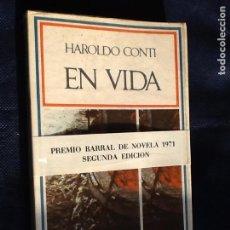 Libros de segunda mano: EN VIDA. HAROLDO CONTI. Lote 78959029