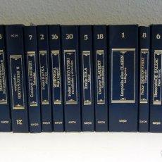 Libros de segunda mano: NOVELAS INMORTALES. 21 TOMOS. EDITORIAL SARPE.. Lote 206356630