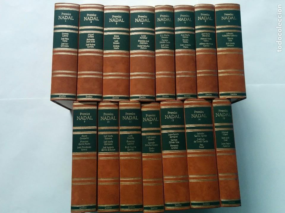 PREMIOS EUGENIO NADAL DE 1944 A 1988 TOMOS 1 AL 15 COMPLETA 1992 AUTORES VARIOS ED. DESTINO (Libros de Segunda Mano (posteriores a 1936) - Literatura - Narrativa - Otros)