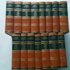 Libros de segunda mano: PREMIOS EUGENIO NADAL DE 1944 A 1988 TOMOS 1 AL 15 COMPLETA 1992 AUTORES VARIOS ED. DESTINO . Lote 79596081