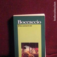 Libros de segunda mano: DECAMERON. BOCCACCIO. ED. GARZANTI. 7ª ED.. Lote 79664297