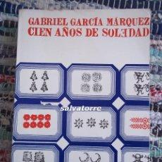 Libros de segunda mano: GABRIEL GARCIA MARQUEZ.CIEN AÑOS DE SOLEDAD, EDITORIAL SUDAMERICANA.1969. Lote 96222404