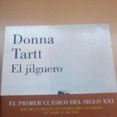 Libros de segunda mano: EL JILGUERO, DONNA TARTT, LUMEN. Lote 80714674